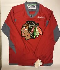 Chicago Blackhawks Blank Reebok Premier NHL Hockey Jersey XL Practice Authentic