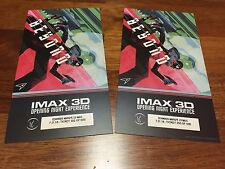 TWO Star Trek Beyond IMAX Premiere Collectors Tickets LIMITED #/500