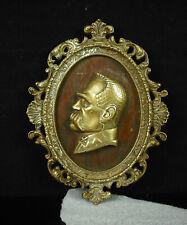 Medallion Jozef Klemens Piłsudski [17 cm 329g Chief Détat Plonais Poland c1930