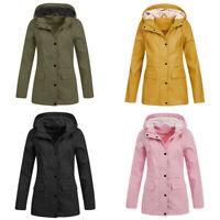 Jacket Waterproof Women Breathable Hooded  Snow Rain Winter Outwear Overcoat