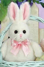 "6"" BUNNI*Bearington Bear*NEW*NWT*Spring*EASTER*White Bunny*RABBIT*450364"