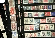 CZECHOSLOVAKIA, Excellent assortment of MINT(many NH) Stamps in stock pages