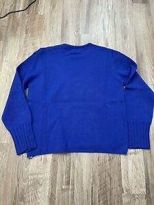 Burberry blue sweater Small