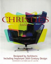 Christies Important 20th Century DESIGN BY ARCHITECTS Modernist Furniture Lamps