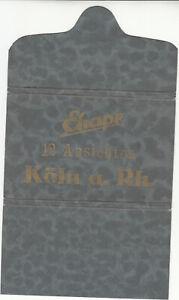 10 alte Postkarten Köln a. Rhein