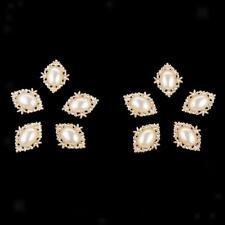 10x Rhinestone Flatback Button for Wedding/Party/Dress accessories DIY