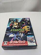 Star Fox Zero Bundle w/ Star Fox Guard Wii U Japan Import US SELLER