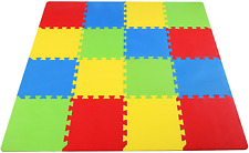New listing BalanceFrom Kid's Puzzle Exercise Play Mat with EVA Foam Interlocking Tiles