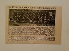 Cabin Creek District & Huntington West Virginia High School 1926 Football Team