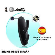 Percha Espia Camara Spy Cam con Detector de Movimiento color negro