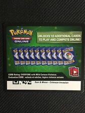Pokemon Sun & Moon Crimson Invasion TCG online code cards (48 count) - Emailed
