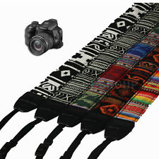 Vintage Camera Shoulder Neck Strap Belt For SLR DSLR Nikon Canon Panasonic HOT
