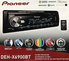 NEW Pioneer DEH-X6900BT CD/MP3/WMA w/ Bluetooth Audio & Variable Illumination