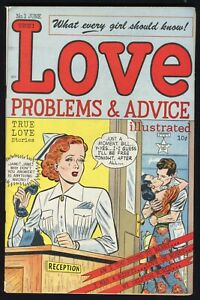 True Love Problems and Advice Illustrated #1 Harvey, 1949 VF-