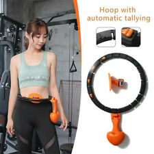 Detachable Smart Infinity Auto-Spinning Hoop Lose Weight Exercise Hula hoop LCD