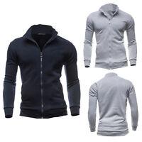 Fashion Men's Slim Winter Coat Jacket Outerwear Overcoat Casual Tops Warm Blazer