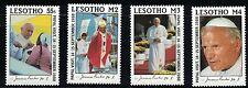 Lesotho SC650-653 VisitOfPopeJohnPaul II Sept,14<MNH 1988