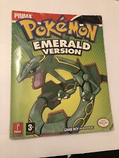 Pokemon Emerald Prima Gameboy Advance Guide  - Nintendo