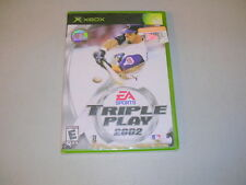 TRIPLE PLAY BASEBALL 2002 (Microsoft Xbox) BRAND NEW FACTORY SEALED