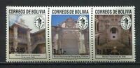 37174) Bolivia 1991 MNH Espamer '91 Strip Of 3v