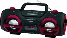 Aeg SR 4359 BT (400639) Radio Stéréo Cd/bt/usb/mp3/aux Noir-rouge