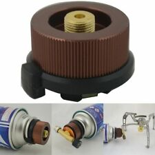 Hiking Camping Stove/Burner Furnace Converter Connector Gas Tank Adapter