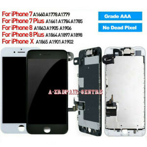 For iPhone X 7 Plus 8 8 Plus OLED LCD Display Touch Screen Replacement+Camera US