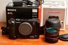 Sony Alpha a7C Mirrorless Camera with Full Spectrum Conversion UV/IR 35mm Lens