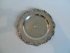 """NICE VINTAGE GORHAM STERLING SILVER SMALL 6"""" BREAD & BUTTER PLATE #A1126"""