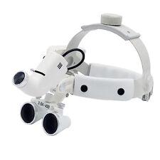 3.5X Dental LED Head Light Headband ENT specific Headlamp Good light spot 5W