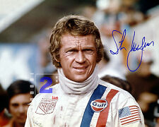 "Steve McQueen 10""x 8"" Signed Color PHOTO REPRINT"