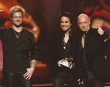 MUSIC: TRAIN SIGNED 10x8 ACTION GRAMMY PHOTOx2+COA *DRIVE BY*HEY, SOUL SISTER*