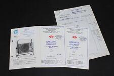 Antiguo DDR Manual de instrucciones Esquema conexiones eléctrico