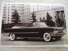 1961  ZIL  RUSSIAN CADILLAC CONVERTIBLE 11 X 17  PHOTO  PICTURE