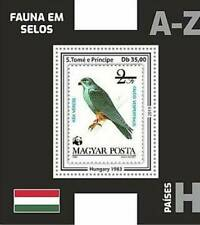 St Thomas - 2019 Stamp on stamp WWF Bird - stamp Souvenir Sheet - ST190613b1