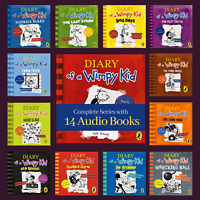 Diary of a Wimpy Kid Series 14 Audiobooks Unabridged (MP3) by Jeff Kinney
