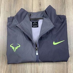 Nike Court Rafael Nadal Tennis Full-Zip Jacket Men's Size S Small  AJ8257