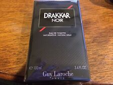 DRAKKAR NOIR GUY LACROCHE COLOGNE MEN 3.4 EDT SPRAY BRAND NEW IN BOX