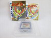 POKEMON GOLD Kin Game Boy Color Nintendo Pocket Monsters Japan Game gb