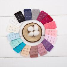 10pcs Bouton d'Extensions de Soutien-gorge 3 Rangées Crochets pour Femmes