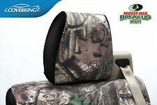 Coverking Mossy Oak Infinity Camo Front and Rear Seat Covers for Ford F150