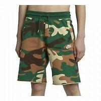 Nike NSW Shorts Camo Green Sportswear Loose Fit SZ XL Men's NWT AR4035-341