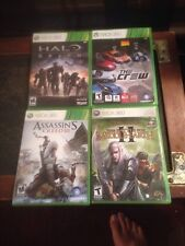 Lot Of 4 Xbox 360 Games, Working Condition