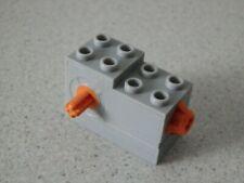 Lego 61100c01# 1x Windup Motor Aufzieh Motor 2x4x2 grau neu hellgrau 60010 4995