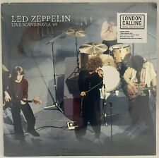 Led Zeppelin - Live In Scandanavia '69 Clear Vinyl LP New But *READ* description