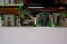 2009 Bethany Lowe by Casey Mack St. Patrick's Day Mini Treat Buckets Set of 4