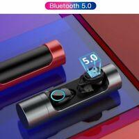 Wireless Bluetooth 5.0 Headset Headphones Sport  Earbuds Waterproof Earphone US