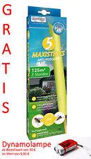RapidAction Anti Mücken - Mosquito MAXI Sticks Kerze Insektenabwehr 125m² Schutz