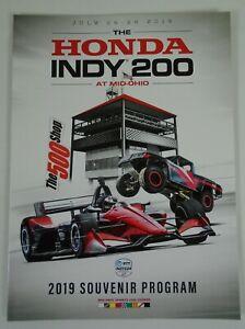 2019 The HONDA INDY 200 At Mid-Ohio Sports Car Course Official Souvenir Program