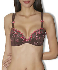Ensemble Soutien-gorge Plunge et String Aubade Swinging Night 90C/T.3